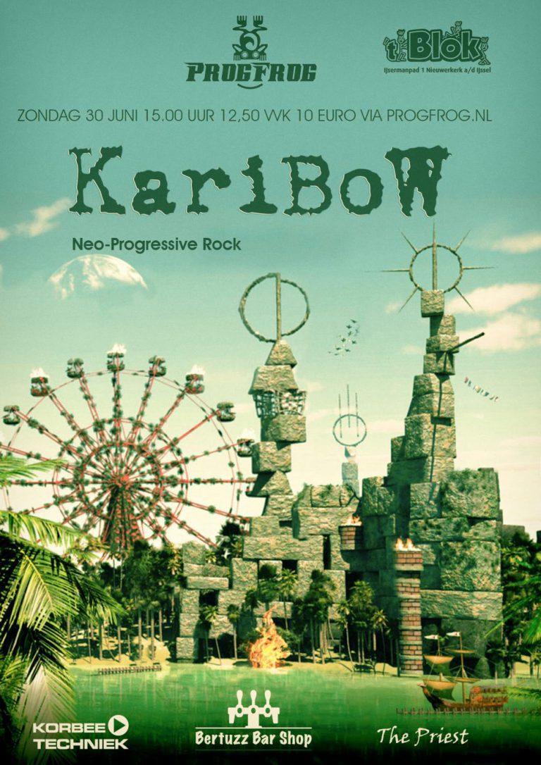 Karibow sluit ProgFrog seizoen af met toegankelijke symfonische rock