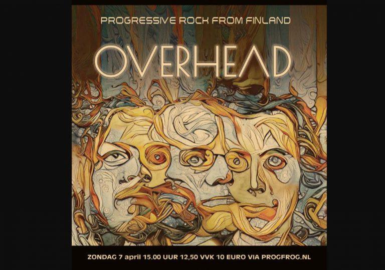 Finse band Overhead brengt progressieve variatierock bij ProgFrog