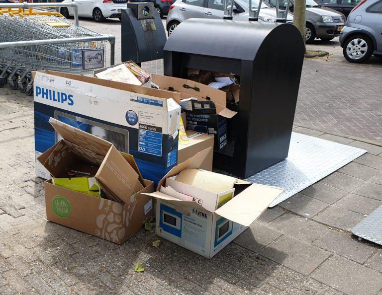 VVD stelt vragen over verdwenen papiercontainers