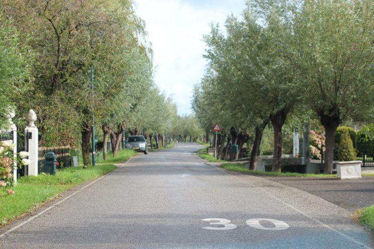 Voorkeurstrace voor snelfietspad tussen Gouda en Rotterdam langs ringvaart, dijk en 's-Gravenweg
