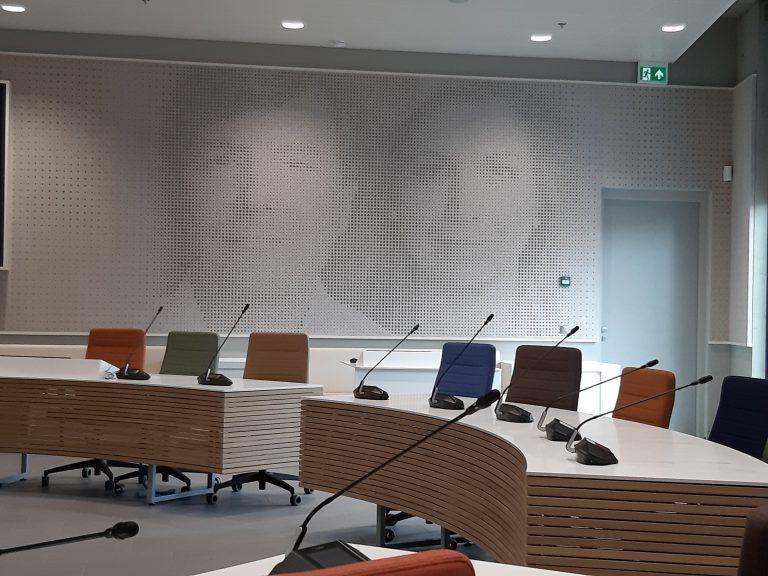 Nieuwe raadszaal van de gemeente Zuidplas