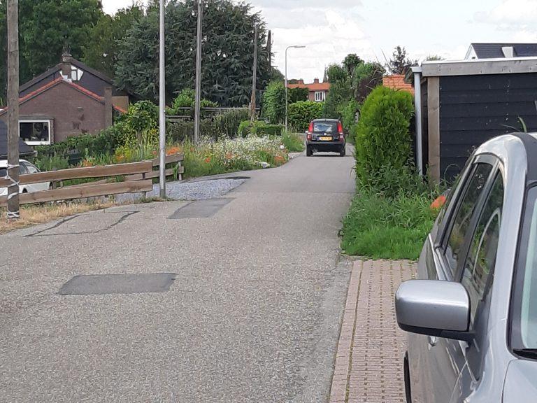 Dit kan nooit een snelwegfietspad worden in Moordrecht. Of het dorpse karakter gaat er aan.