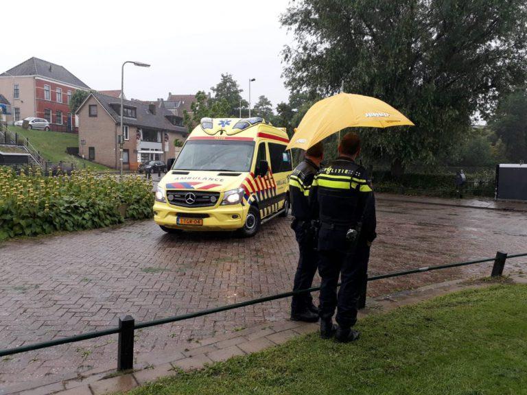 Scooterrijder gewond bij eenzijdig ongeval in Moordrecht