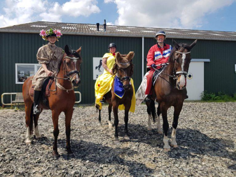 Zuidplas sportweekeinde : Dansende paarden bij de Zuidplasruiters – Dubbel D1 CKV Nieuwerkerk – Sportief toernooi Waterdragers