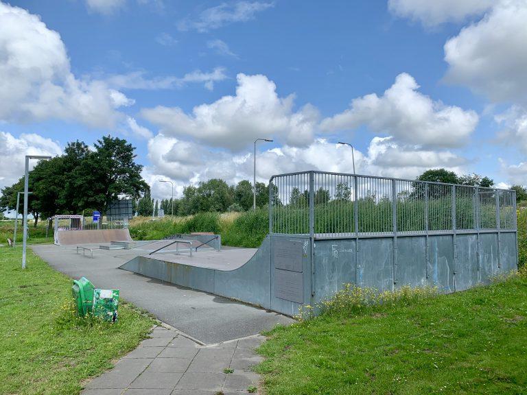 19 juli start bouw nieuw skatepark