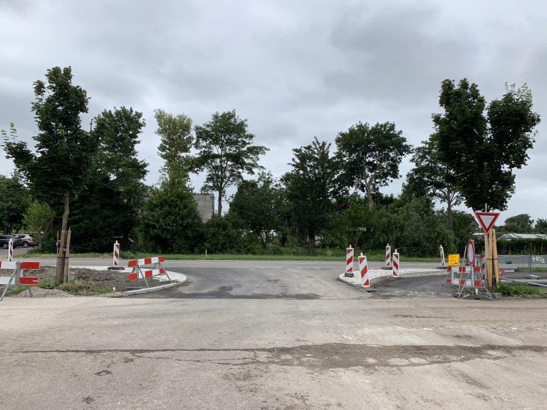 Nieuwe aansluiting Koning Willem Alexanderlaan-Zuidplasweg