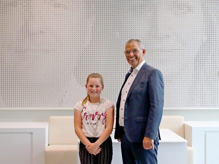 Vienne Zwarteveld nieuwe kinderburgemeester Zuidplas