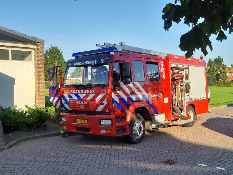 Brandmelding Prinses Marijkestraat Moordrecht
