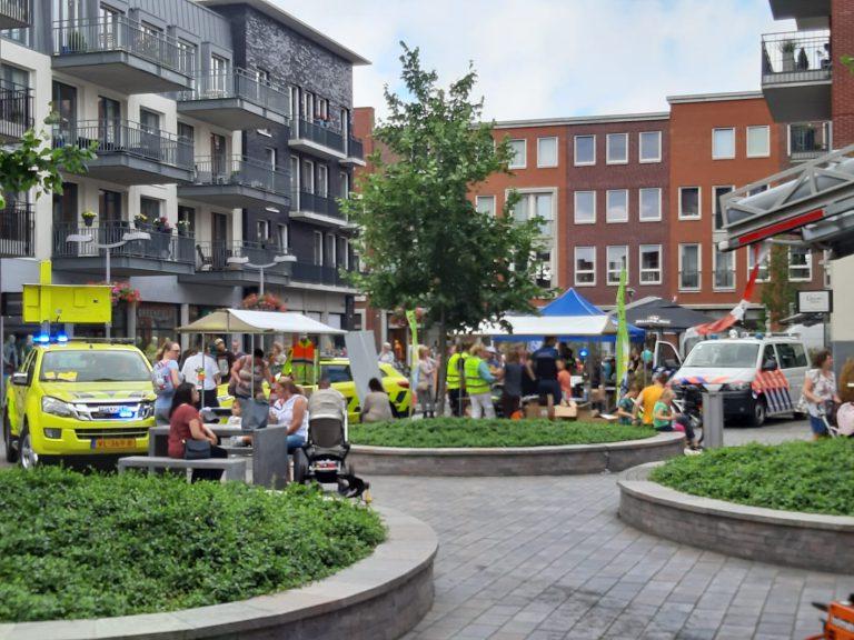 Druk bezochte veiligheidsdag op Gouweplein in Waddinxveen