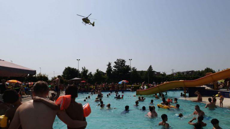 Traumaheli ingezet na ernstig ongeval in Polderbad Nieuwerkerk