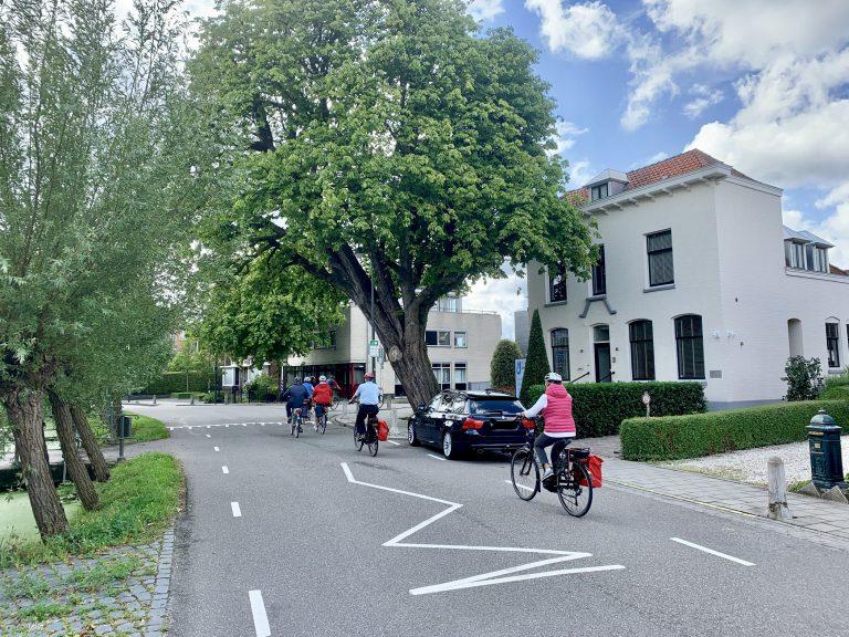 Test Fietsstraat 's Gravenweg