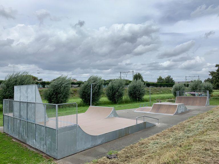 Nieuwe skatebaan 't Blok