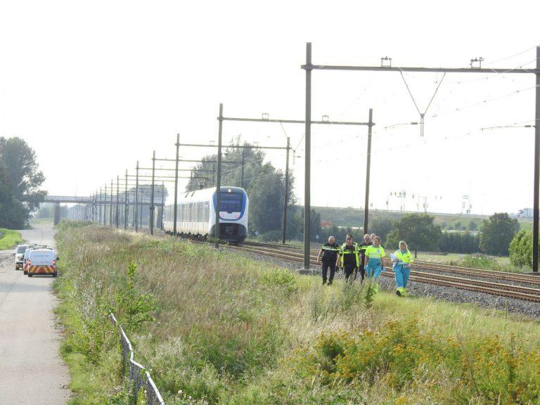 Aanrijding met trein op Bredeweg Zevenhuizen/Waddinxveen