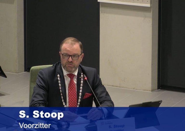Laatste raadsvergadering waarnemend Burgemeester Servaas Stoop