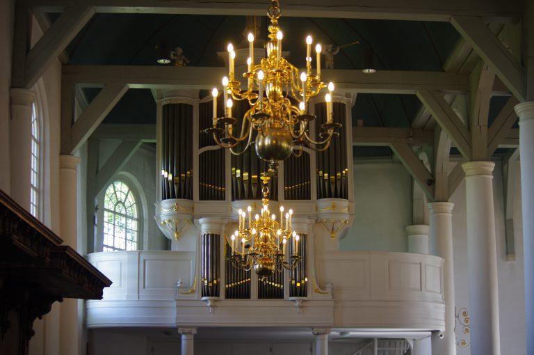 Orgel dorpskerk Zevenhuizen