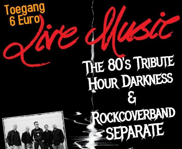 Live bands nemen bezoekers mee terug naar de jaren 80