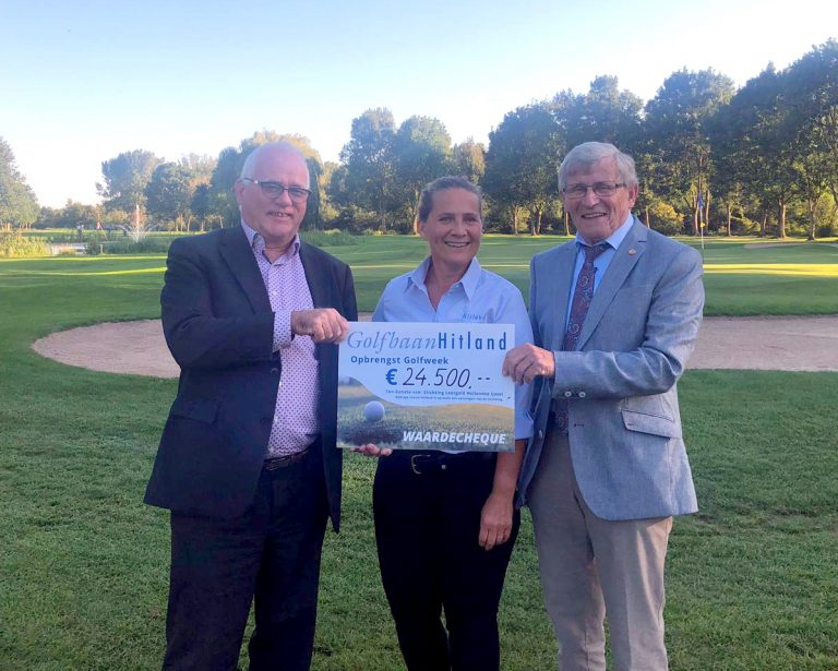Golfweek Hitland levert 24.500€ op voor Stichting Leergeld Hollandsche IJssel