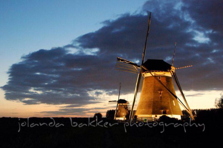 Molenviergang Zevenhuizen volgende week verlicht