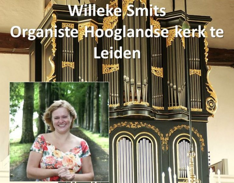 Leidse organist Willeke Smits geeft concert in Nieuwerkerk aan den IJssel