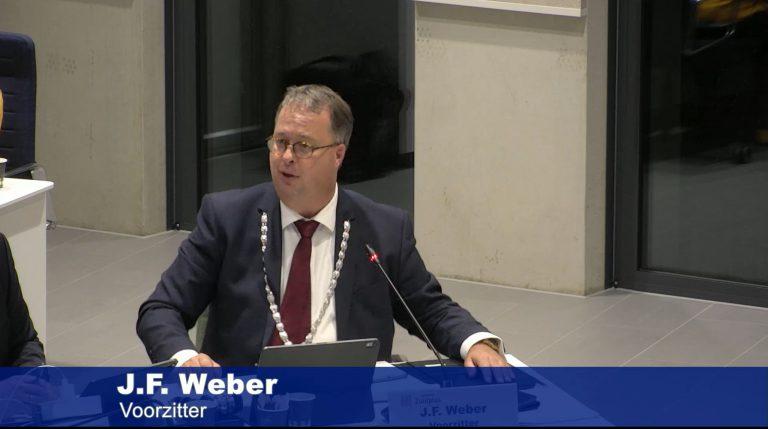 Eerste RaadZuidplas vergadering voor bgm Han Weber
