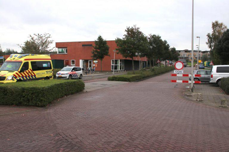 Aanrijding scooter en bestelbus in Nieuwerkerk: 1 gewonde