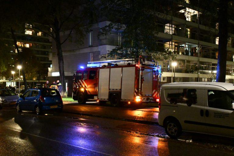 Barbecue op balkon zorgt voor commotie in flat in Nieuwerkerk
