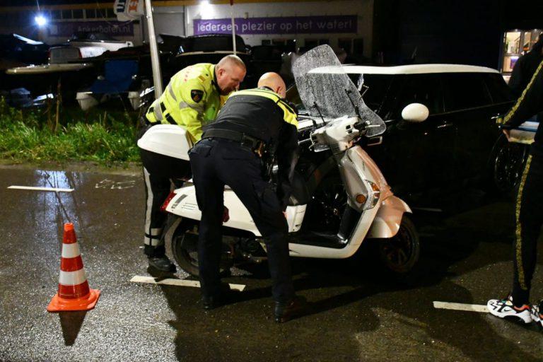 Scooterrijder gewond bij ongeval Eerste Tochtweg in Nieuwerkerk
