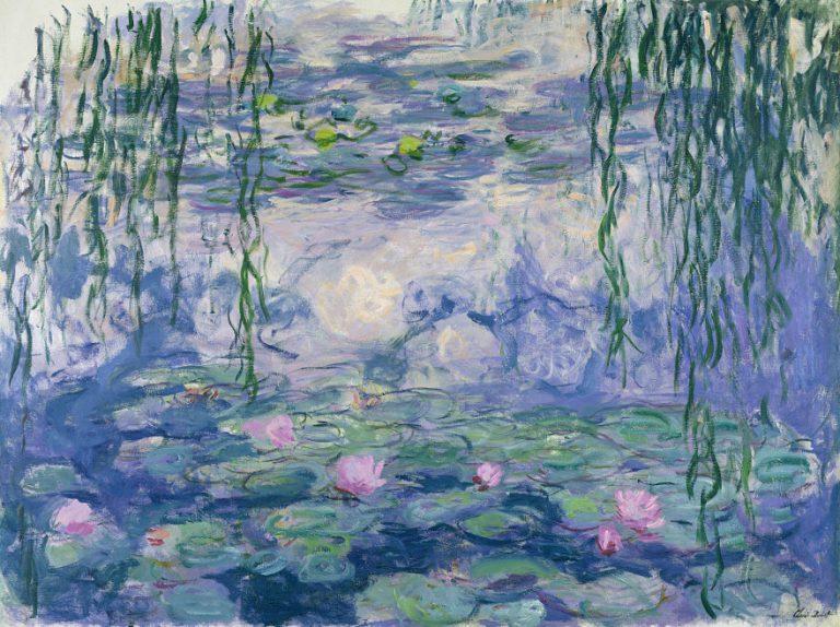 Lezing SBKZ over de schilder Monet, door Hoo Man-Chan, in Swanla