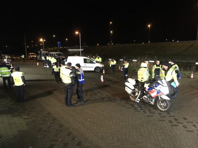Grote verkeerscontrole A12/A20