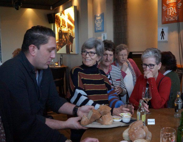 Feestelijk diner vrijwilligers bij jubileum 40 jaar Zonnebloem Nieuwerkerk