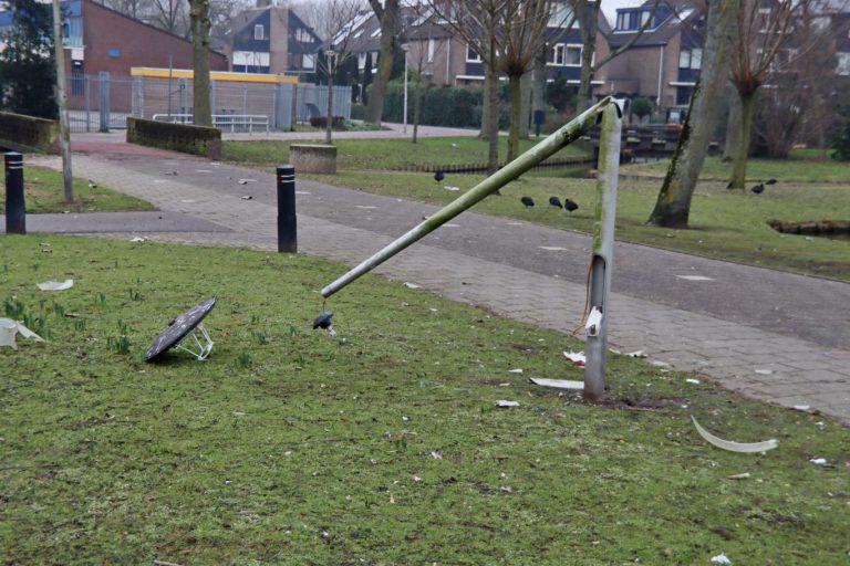 Gemeente Zuidplas schat 5.000 tot 10.000 euro schade Oud en Nieuw