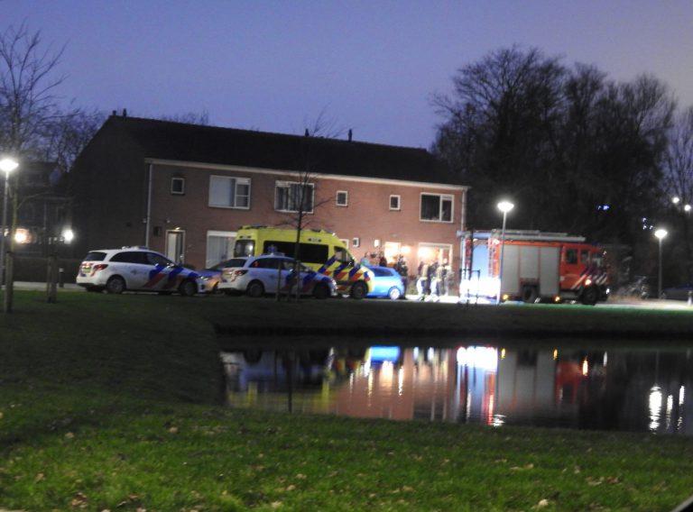 Woningbrand in Prins Bernhardstraat (Nieuwerkerk)