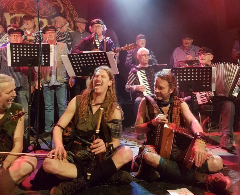 Optreden Rapalje met gastoptreden van Shantykoor Kraaiennest was top