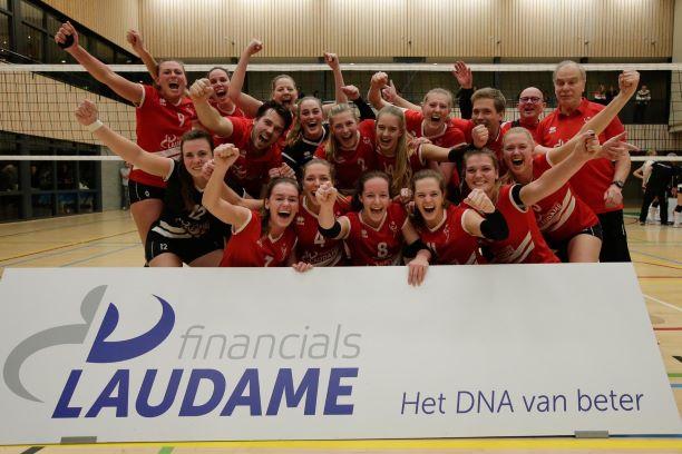 Spannende dag voor Laudame VCN in bekerfinale