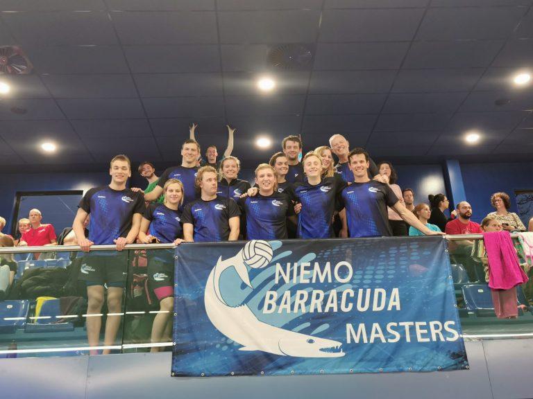 Masters Barracuda overtreffen zichzelf bij ONMK
