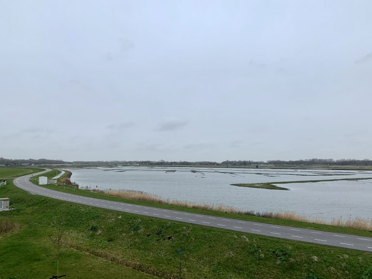 Waterberging actief in Eendragtspolder