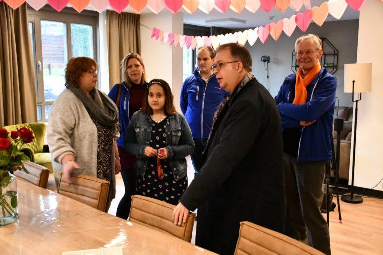 ChristenUnie/SGP Zuidplas maakt een tour met burgemeester Weber