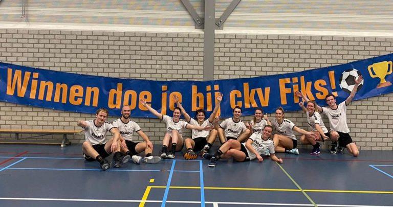 CKV Nieuwerkerk blijft ongeslagen in 2020 na overwinnig tegen Fiks