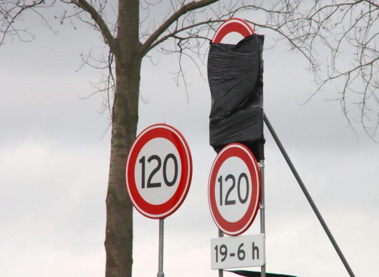 Vanaf 12 maart wordt de maximum snelheid op A12 en A20 aangepast