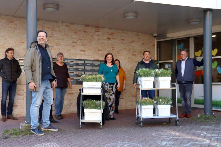 Tulpen challenge gestart voor zorgverleners en inwoners