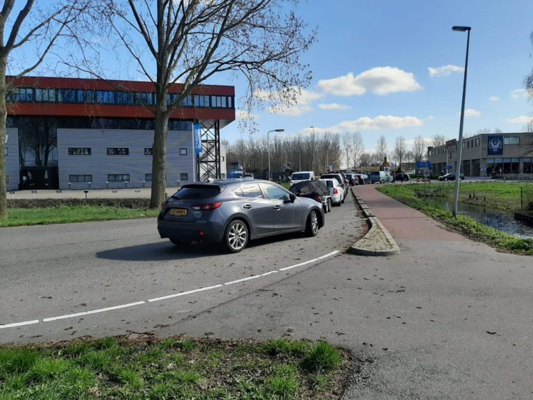 Het afvalbrengstation in Zevenhuizen sluit voorlopig, Nieuwerkerk blijft open