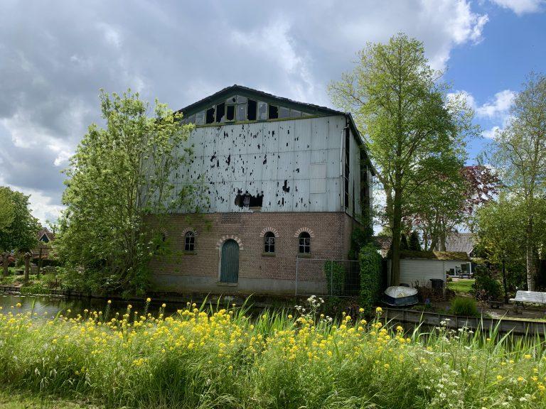 Oude graansilo Zevenhuizen