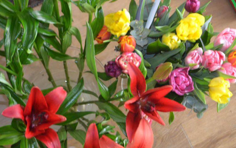 De SP in Zuidplas start met bezorgen van bloemen