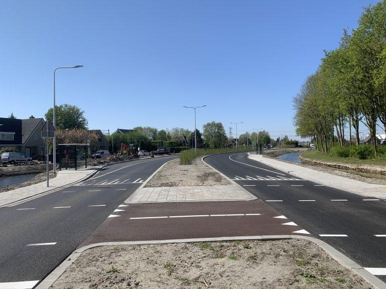 Hoofdweg – fiets-/voetoversteek Britse Zoom