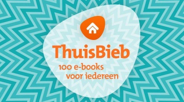Bibliothekenstellen100 e-books beschikbaar viaThuisBieb