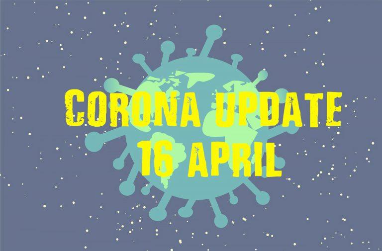 Corona terugblik van 16 april : Zandzak op zij – file bij gemeentewerf – Tommms Hoekje weer open