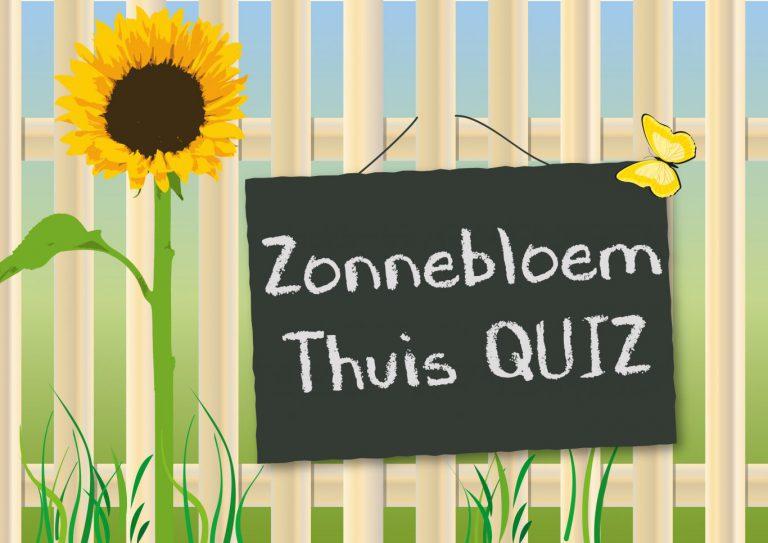 De Zonnebloem Nieuwerker verzorgt de komende vier weken een thuisquiz