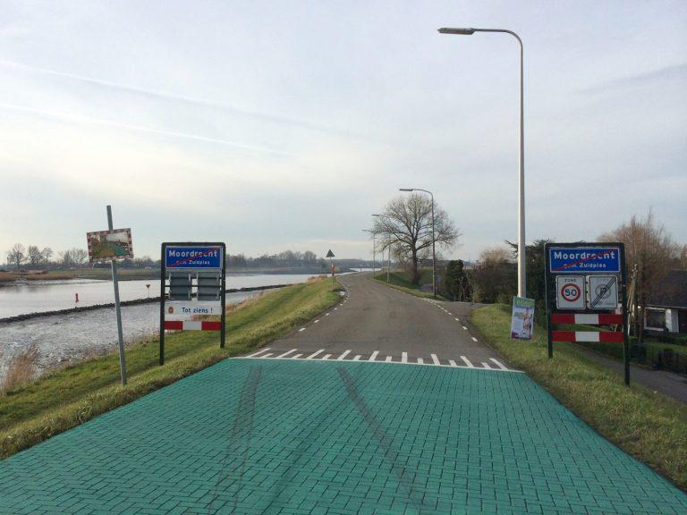 Schielandse Hoge Zeedijk tussen Moordrecht en Nieuwerkerk 9 weken afgesloten voor reconstructie