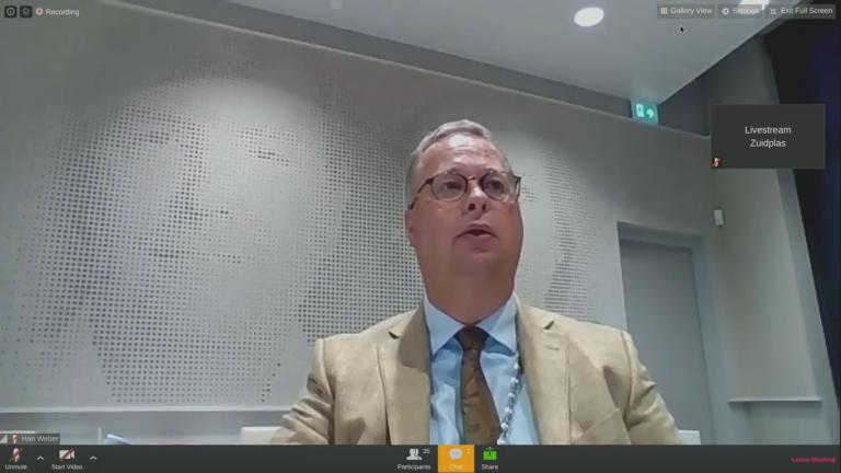 Live Blog : Gemeenteraadsvergadering 26 mei via video