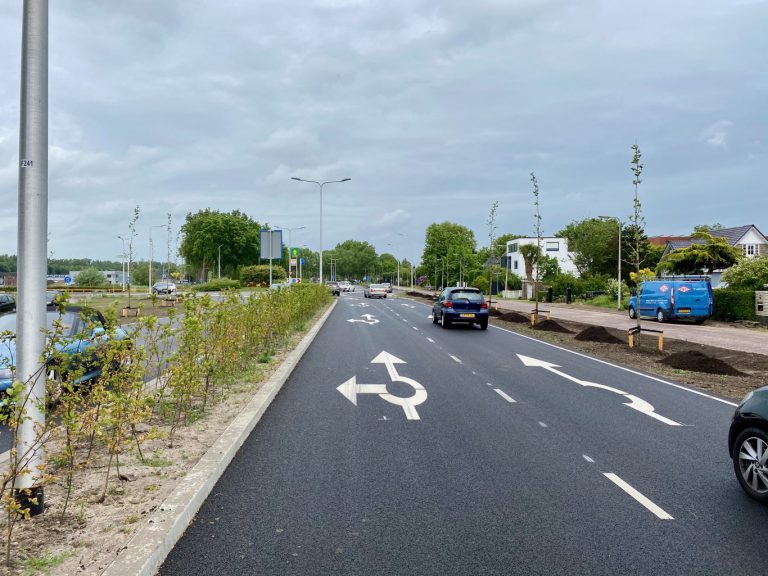 VVD stelt vragen over verkeersveiligheid rotonde Hoofdweg